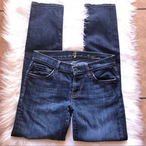 7 for all mankind skinny jeans 25  Slim Cigarette